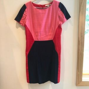 EUC Boden Pippa Colorblock Dress